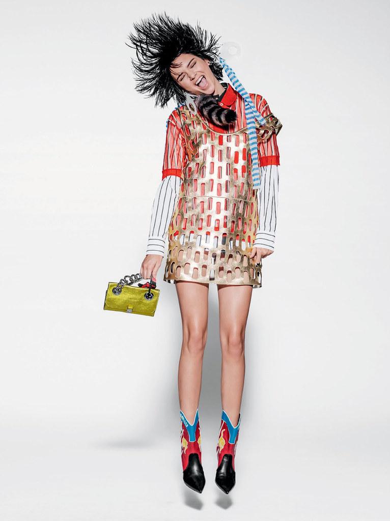 Кендалл Дженнер — Фотосессия для «Vogue» BR 2015 – 9