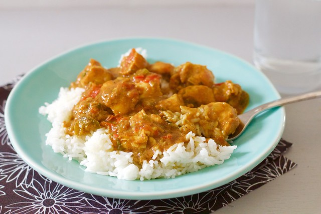 Curried Chicken