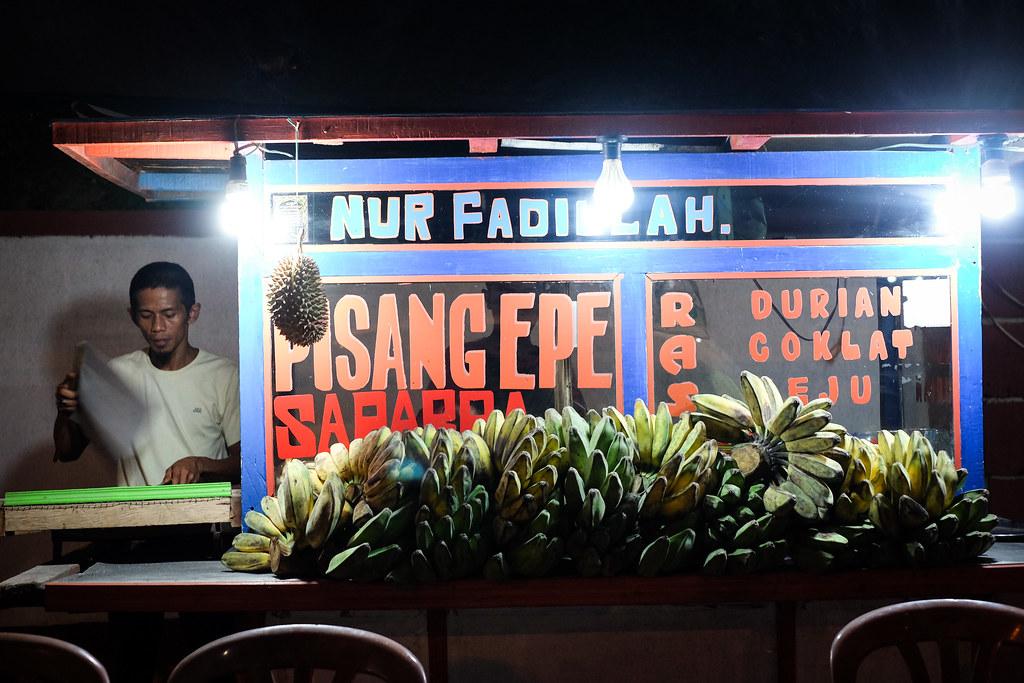 Makassar Food: Pisang Epe