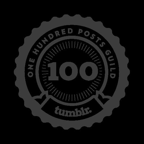 100 Posts! 1