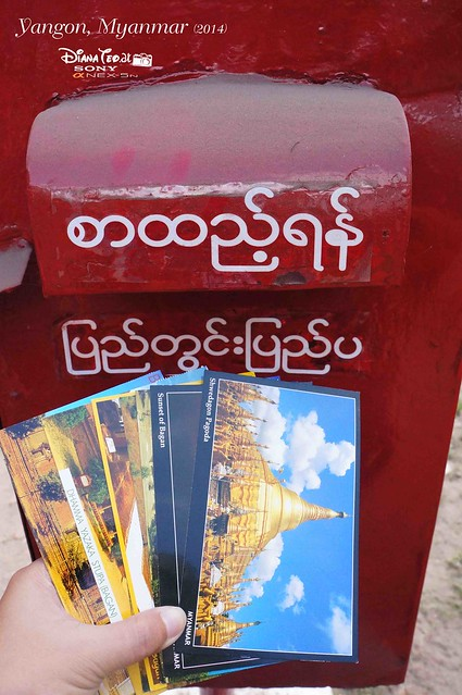 Myanmar, Yangon Post Office