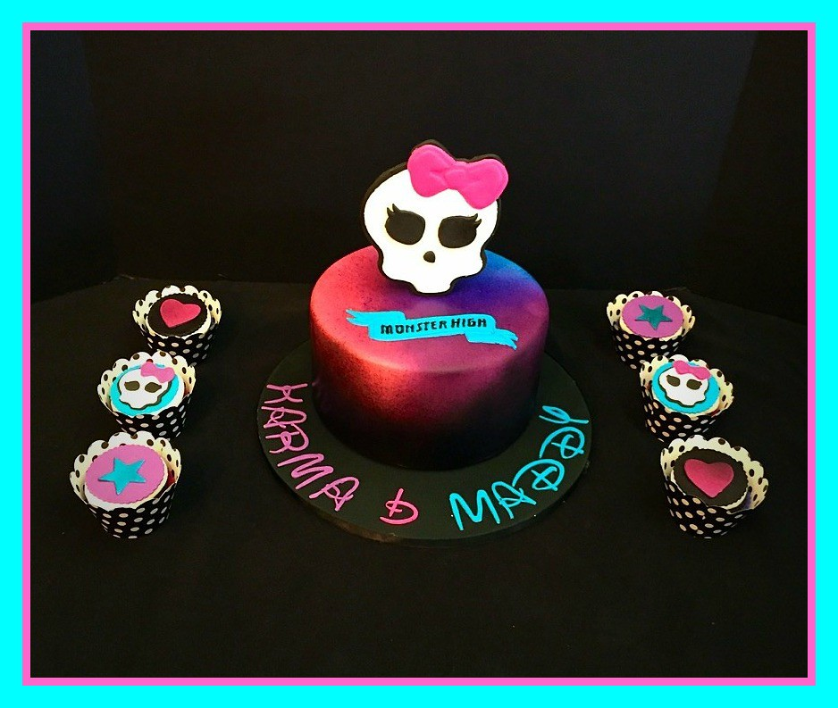 Monster High Cake By Amy Northern Utah Birthdaycakes4free