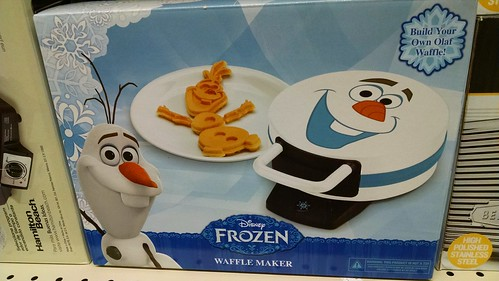 Disney Frozen Olaf the Snowman Waffle Maker