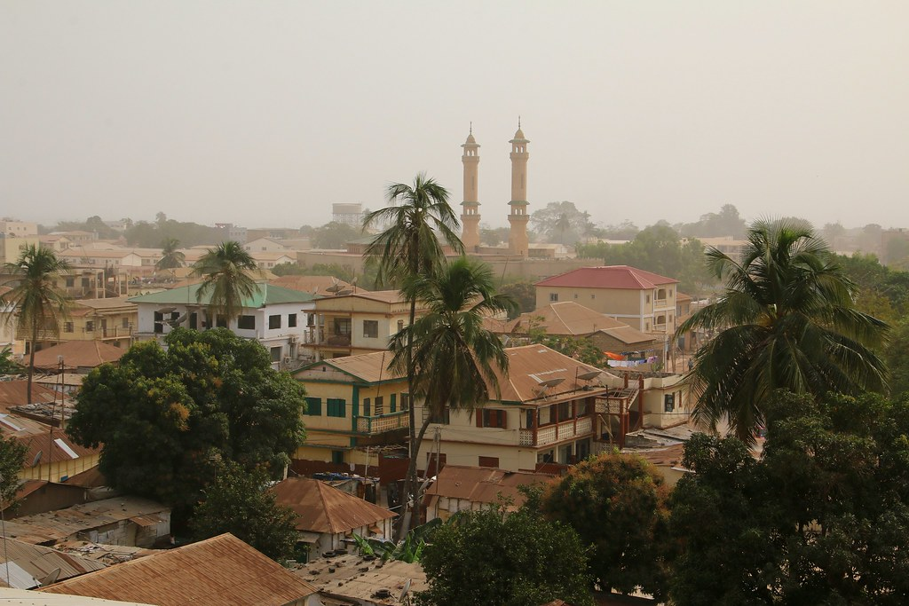 Banjul,  capital  of  the  Gambia