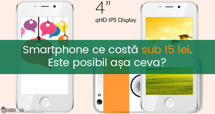 Smartphone cu Android ieftin