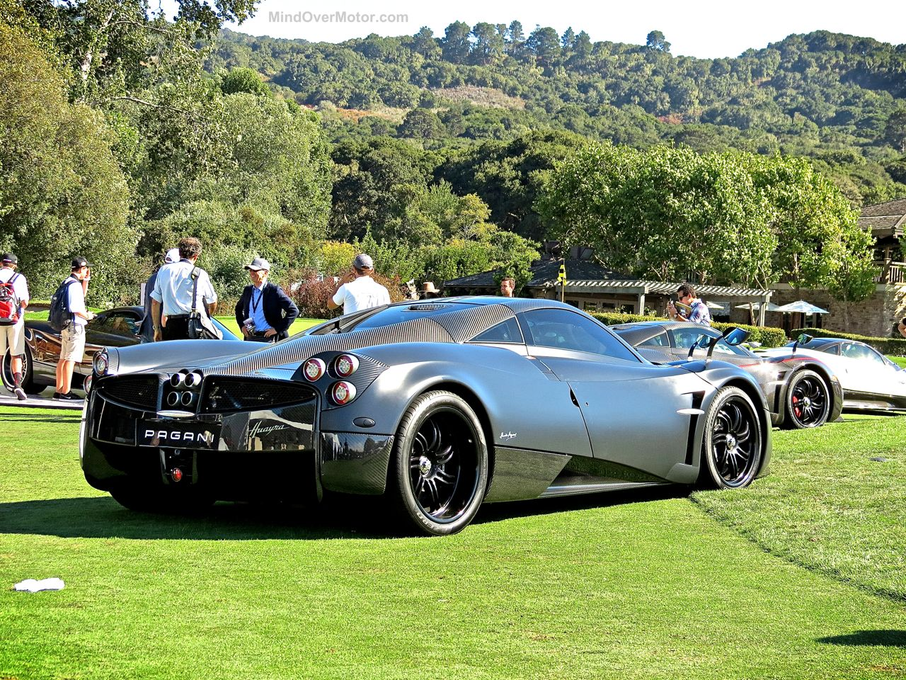 Pagani Huayra Blue Carbon The Quail 9
