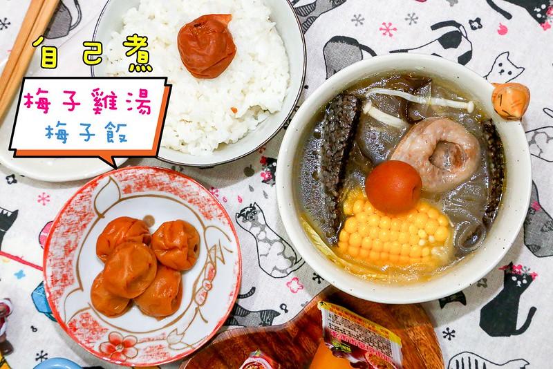 梅子雞湯梅子飯【梅子食譜】梅子雞湯+梅子飯,酸酸酸梅的一餐
