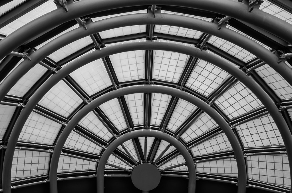 Half rotunda, United Terminal