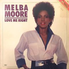 MELBA MOORE:LOVE ME RIGHT(JACKET A)