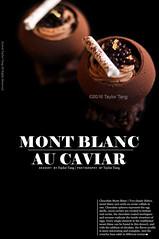Mont Blanc Au Caviar