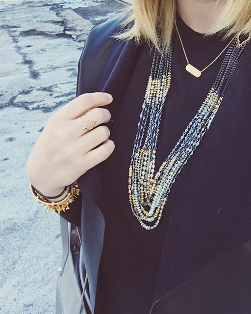 Somedays a girl just wants to make a statement 💁 #stelladotstyle