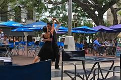 Buenos Aires - Plaza Dorrego tango dancers