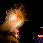 """Rockets Over the River"""" show at  Laughlin Nevada"""