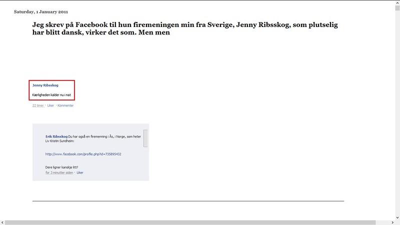 jenny ribsskog dansk sang