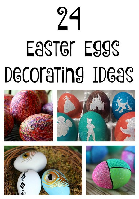 24 Easter Egg Decorating Ideas