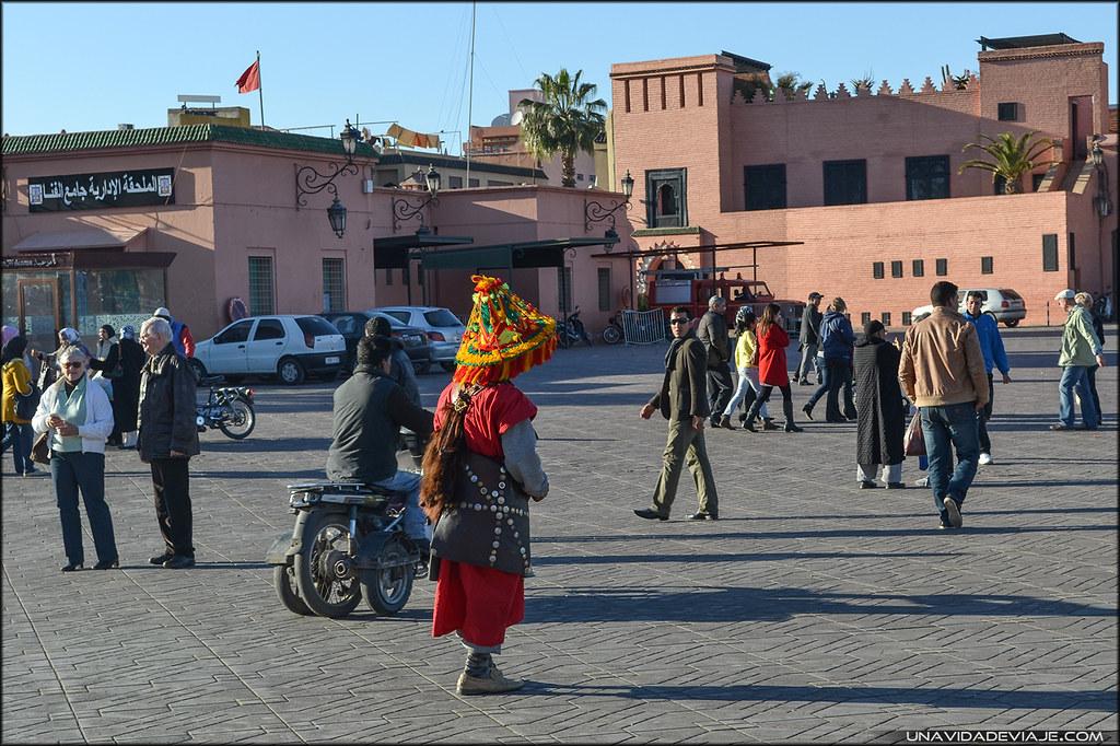 Marruecos sur Marrakech zoco