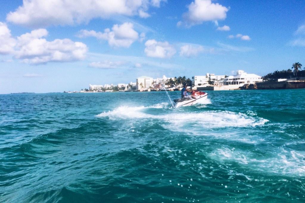 Jetsking in Nassau