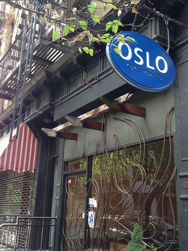 Oslo Cafe, NYC. Nueva York