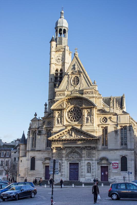 Saint Etienne du Mont, Paris