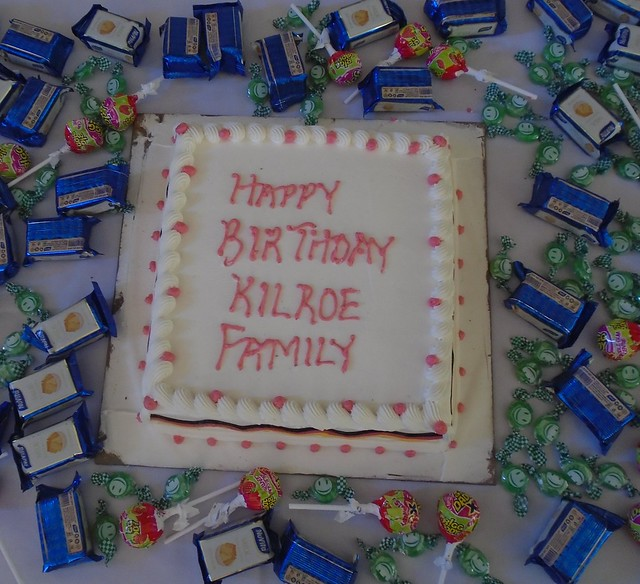 Kilroe House Birthday Cake