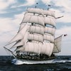 It's #tallshiptuesday! This week we are featuring Elissa who hosts programming for @galvestonhistory. Her homeport lies just about an hour away from this weekends #ncaa #marchmadness #finalfour games. Our intern @wisensmash is pulling for a big win from h