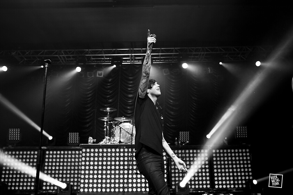 Sleeping With Sirens // Shot by Carl Battams