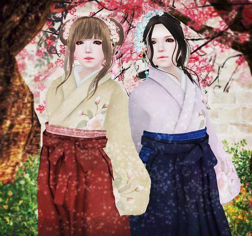 (*ANGELICA)Haruka&Tsubasa @ skin fair 2016