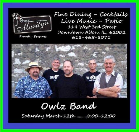 Owlz Band 3-12-16