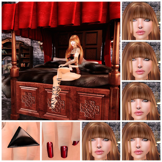 The Red Room Collage