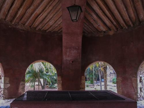 Valladolid: la cenote Sis-Ha du couvent de San Bernardino