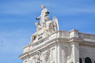 Image of Arco da Rua Augusta near Lisbon. travel food portugal europa europe lisboa lisbon trips lissabon reizen 2016 portwine stedentrip arps paularps nilon7100 timeoutmarket