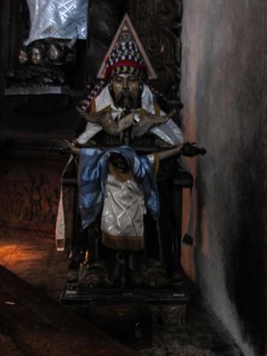 Santiago Atitlán: entre religion catholique et croyances mayas