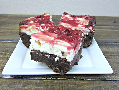 Cherry Cheesecake Brownie Layers