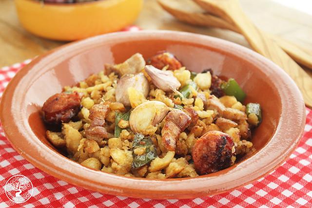 Migas caseras de pan www.cocinandoentreolivos.com (17)