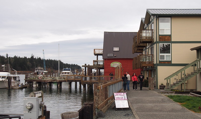 La Conner Waterfront: On the Swinomish Channel