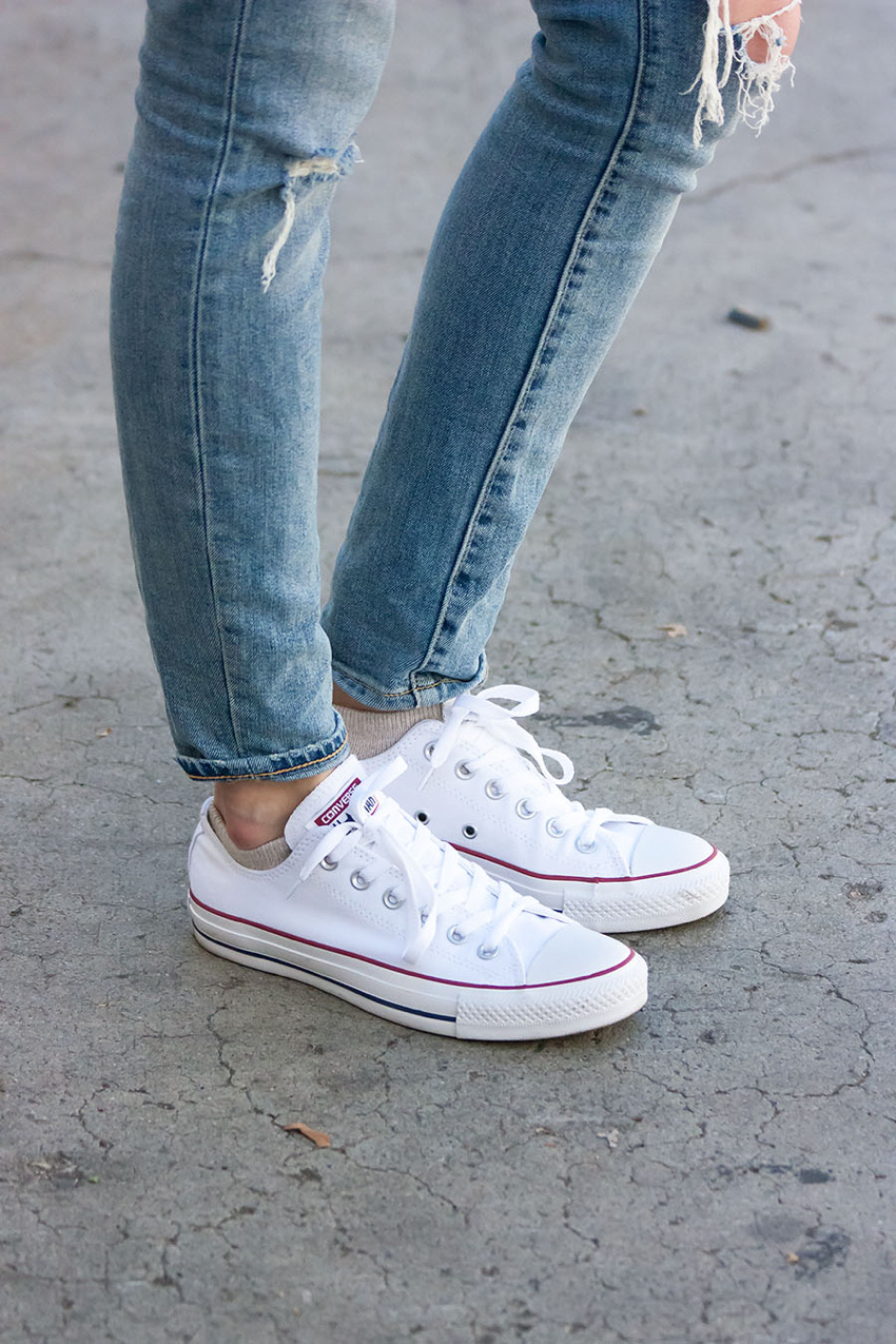 Converse Sneakers, White Sneakers