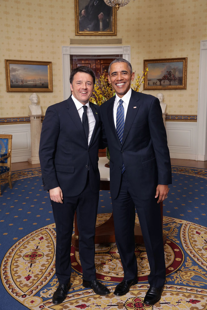Renzi a Washington