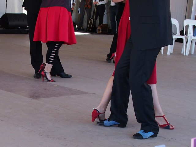 Tango feet too