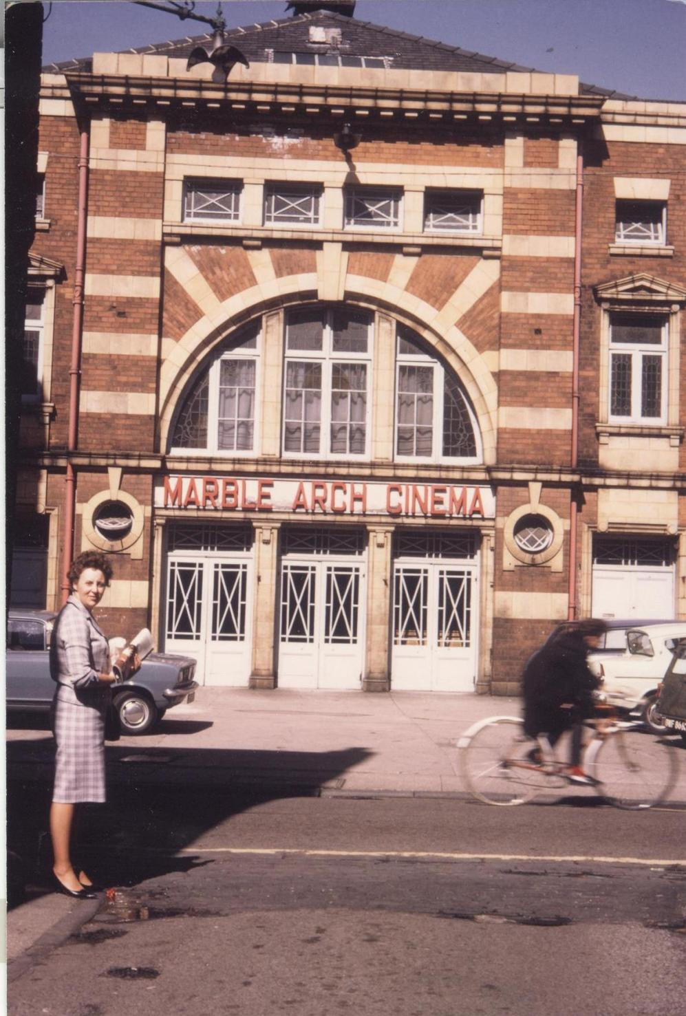 Marble Arch Cinema, Butcher Row, Beverley 1960s (archive ref DDPD-2-2-10)
