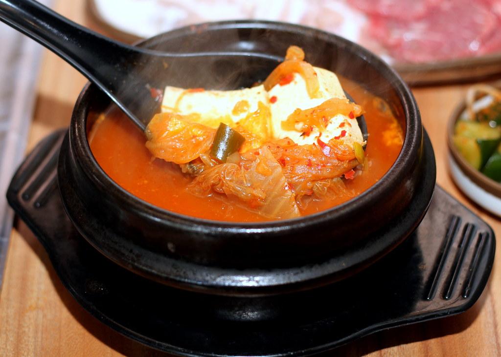 Korean BBQ Singapore: Kkongdon Kimchi Soup