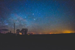 Milkyway in France - Photo of Captieux
