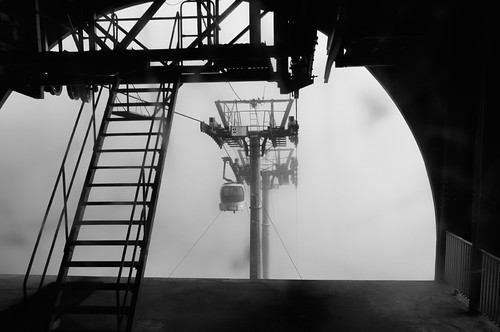 Telecabina con niebla (1)