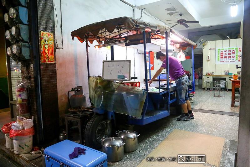 台北小吃︱台北熱炒,電鍋煮醬油雞肉飯,食譜料理生活,龍濱大腸麵線 @陳小可的吃喝玩樂