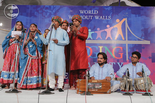 Devotional song by by Kailash and Saathi from Mangolpuri