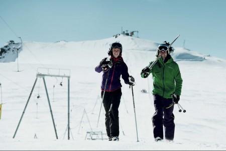 Vyhlášení soutěže Poznej a vyhraj: král letního lyžování