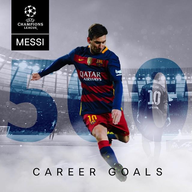 Lionel Messi: 500 Goles