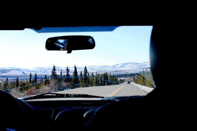 leaving Denali