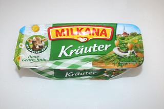 04 - Zutat Schmelzkäse mit Kräutern / Ingredient soft cheese with herbs
