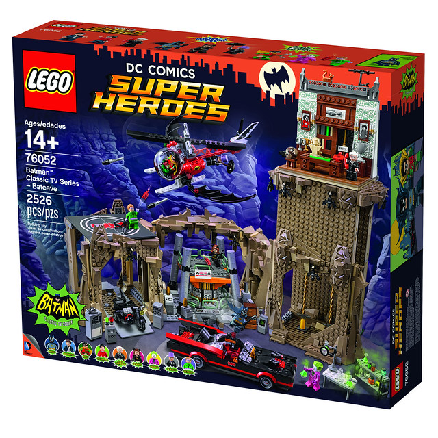 LEGO Super Heroes DC Comics 76052 - Batman Classic TV Series - Batcave