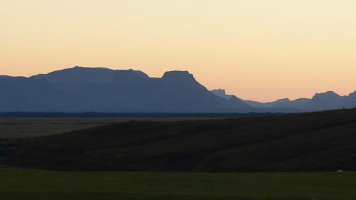 sunset mountains rot silhouette island abend iceland panasonic berge abendstimmung fz200